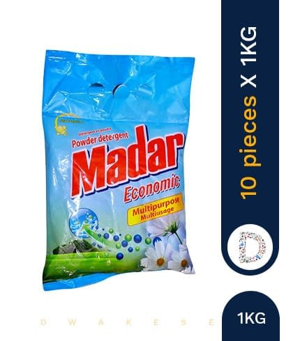 MADAR WASHING POWDER 10 X 1KG
