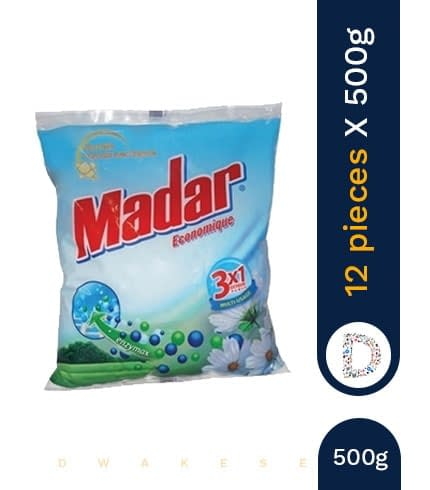 MADAR WASHING POWDER 12 X 500GR