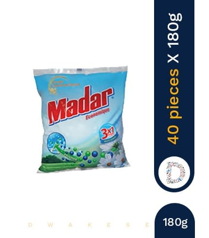 MADAR WASHING POWDER 40 X 180G