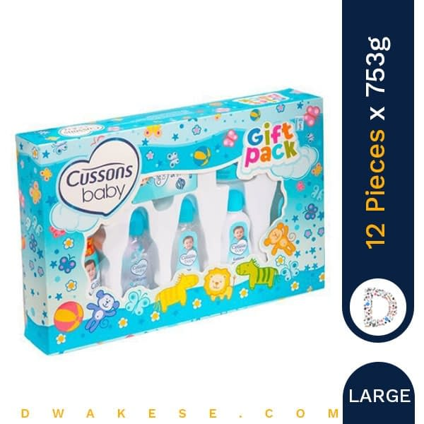 CUSSONS BABY GIFT PACK LARGE MILD & GENTLE 753g x 12 PIECES
