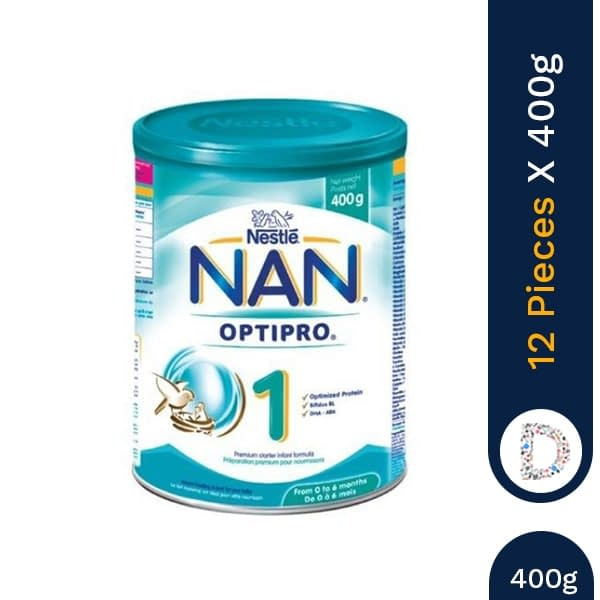 NAN 1 400G OPTIPRO X 12 PIECES