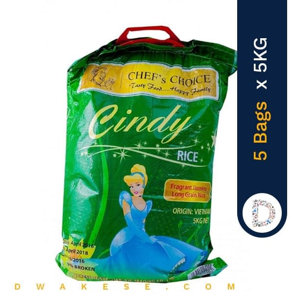 CINDY RICE 5KG X 5BAGS