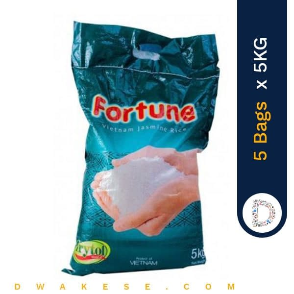 FORTUNE DELICIOUS RICE 5KG X 5BAGS