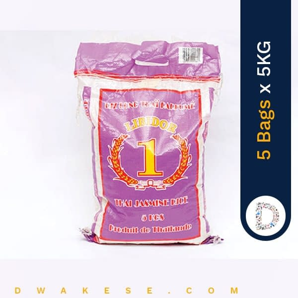 NUMBER 1 RICE 5KG X 5BAGS