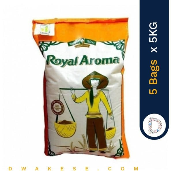 ROYAL AROMA RICE 5KG X 5BAGS