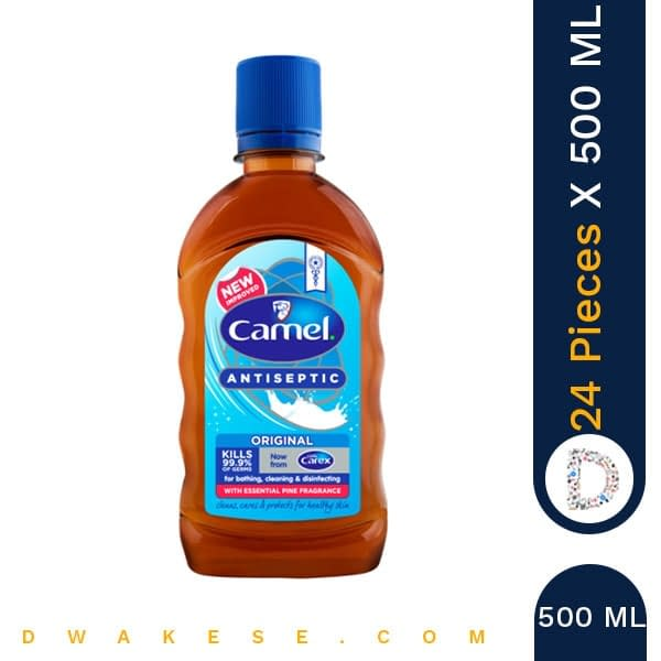 CAMEL ANTISEPTIC LIQUID ORIGINAL 500ml x 24 PIECES