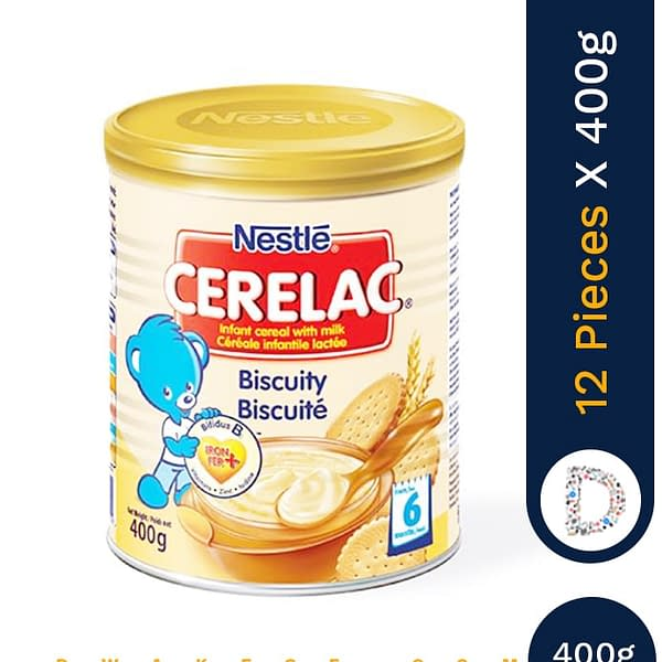 CERELAC BISCUITY 400G X 12 PIECES