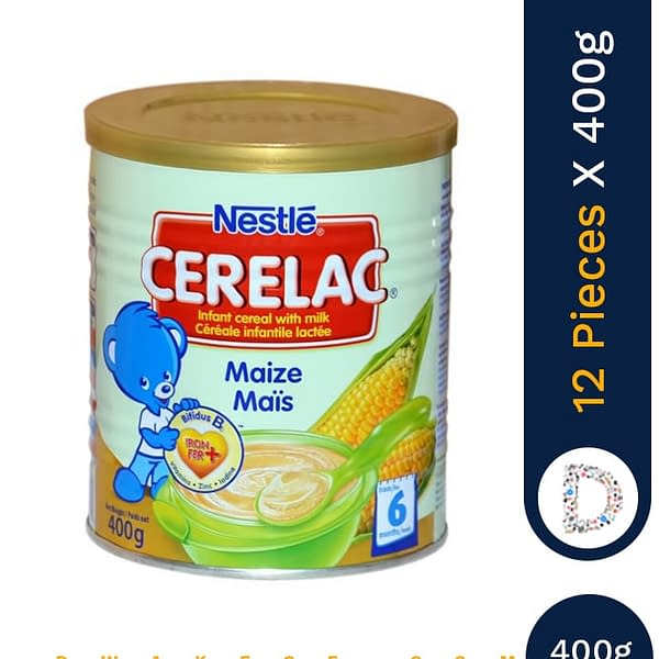 CERELAC MAIZE 400G X 12 PIECES