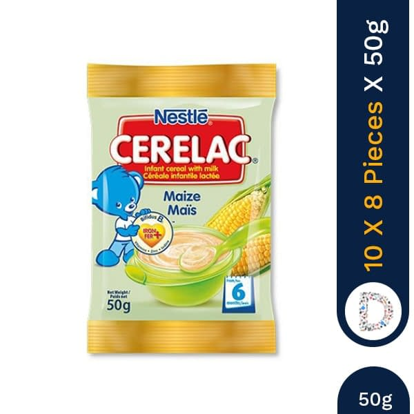 CERELAC MAIZE 50G X 10 X 8 PIECES
