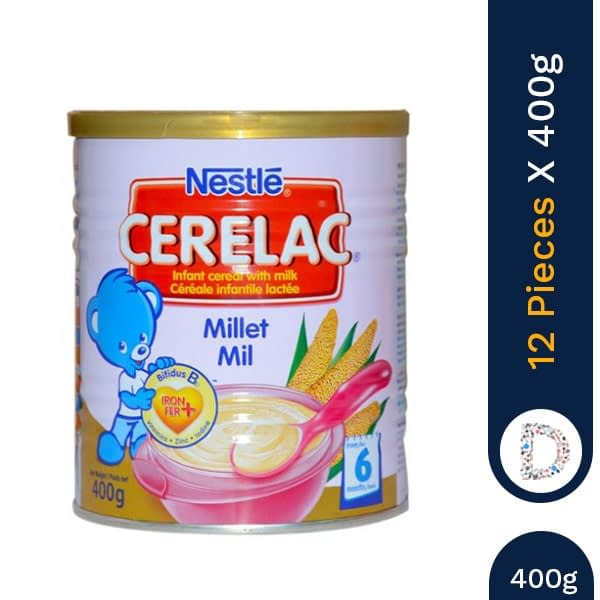 CERELAC MILLET 400G X 12 PIECES