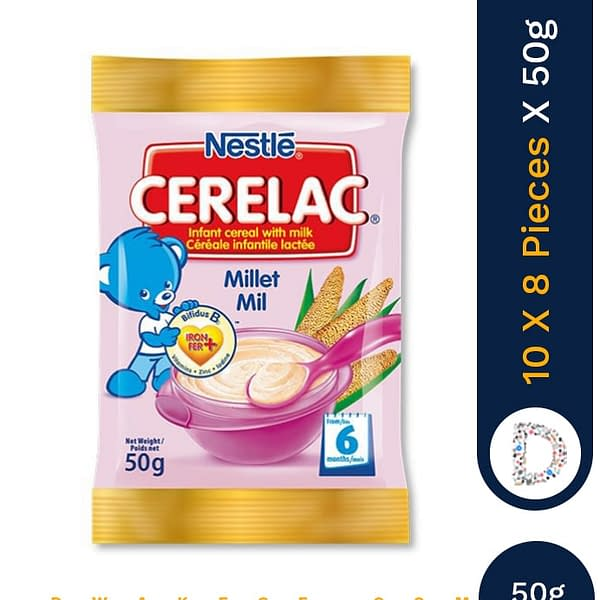 CERELAC MILLET 50G X 10 X 12 PIECES