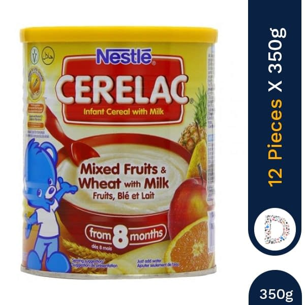 CERELAC POUCH 350G X 12 PIECES