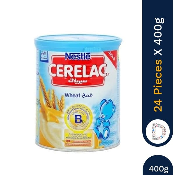 CERELAC WHEAT 400G X 12 PIECES