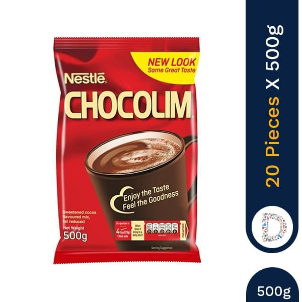 CHOCOLIM 500G X 20 PIECES
