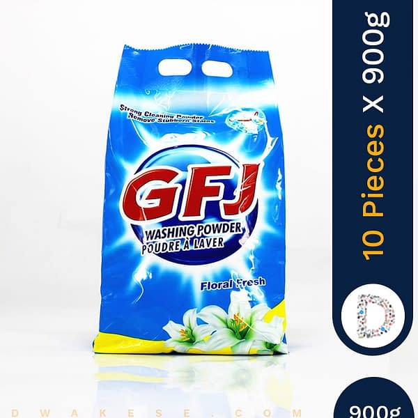 GFJ WASHING POWDER 10 X 900G