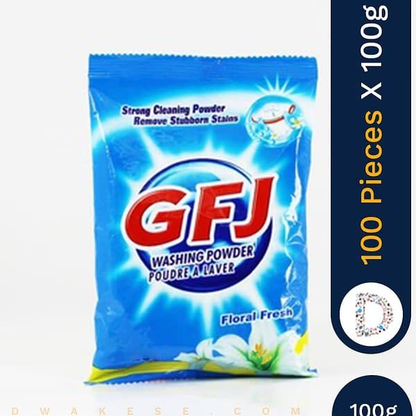 GFJ WASHING POWDER 100 X 110G