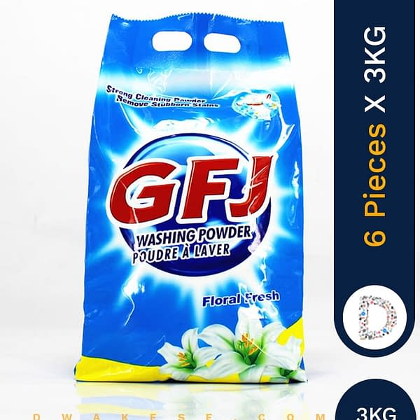 GFJ WASHING POWDER 6 X 3 KG