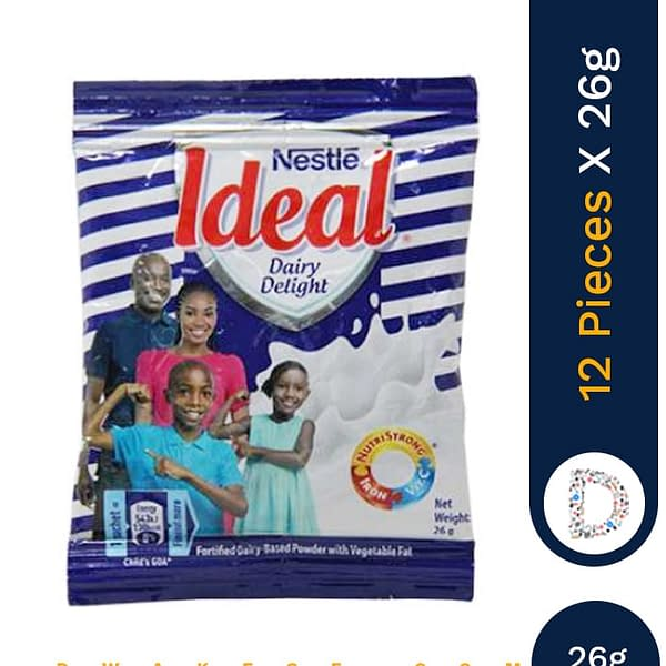 IDEAL DAIRY DELIGHT 26G X 12 PIECES