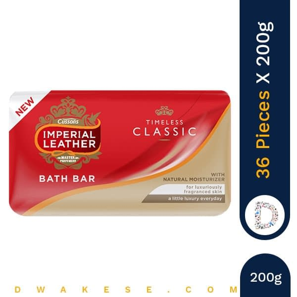 IMPERIAL LEATHER CLASSIC BAR 200g x 36 PIECES
