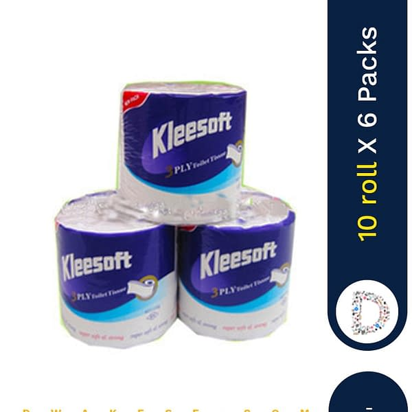 KLEESOFT TOILET ROLL 10 X 6 PACKS