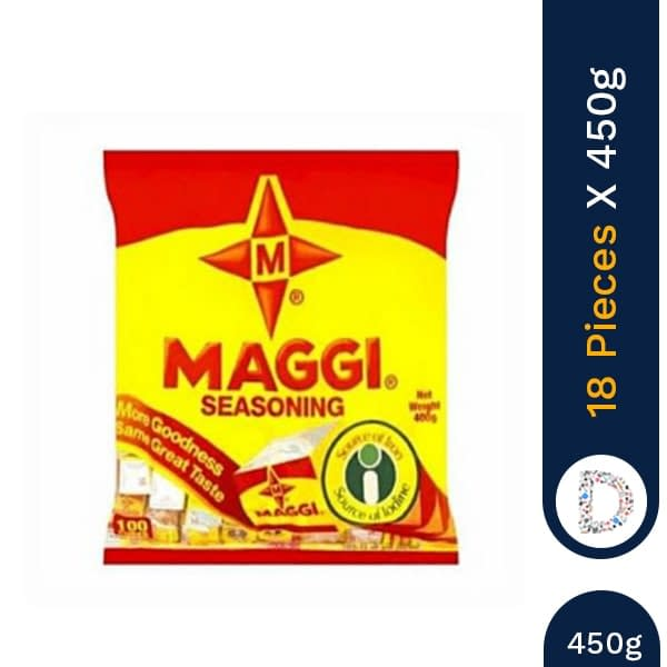 AGGI SEASONING POWDER 450G X 18 PIECES