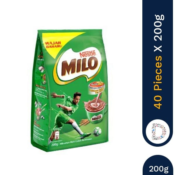 MILO ACTIGEN 200G X 40 PIECES