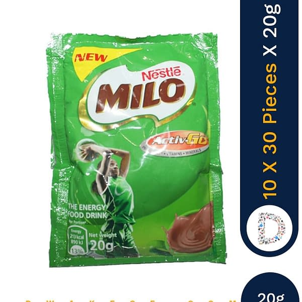 MILO ACTIGEN 20G X 10 X 30 PIECES