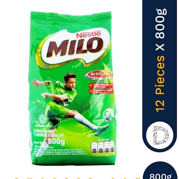 MILO ACTIGEN 800G X 12 PIECES