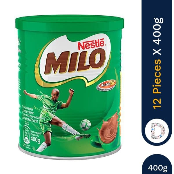 MILO ACTIGEN 400G X 12 PIECES