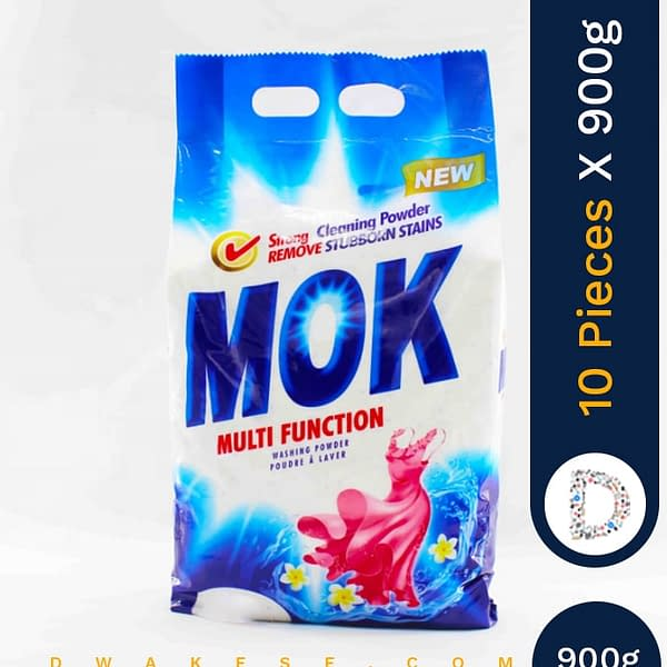 MOK WASHING POWDER 10 X 900G