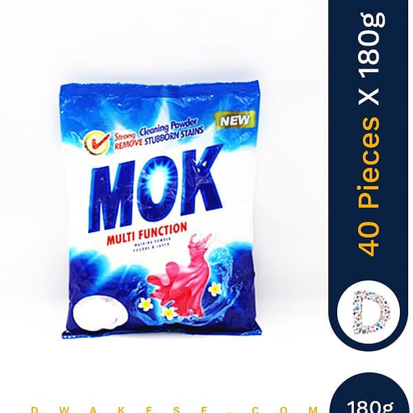MOK WASHING POWDER 40 X 180G