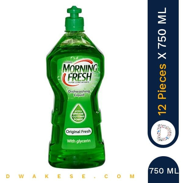 MORNING FRESH DISH WASH ORIGINAL 750 ML x 12 PIECES