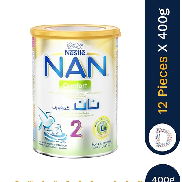 NAN 2 400G COMFORT X 12 PIECES