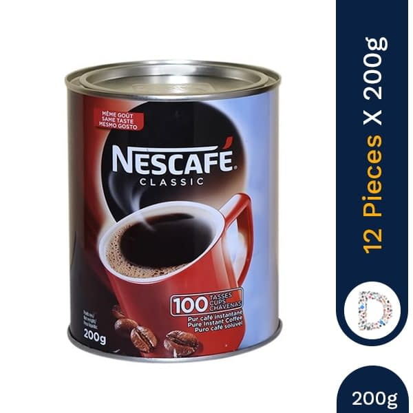 NESCAFE 200G X 12 PIECES