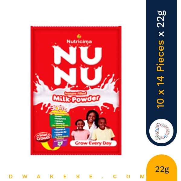 NUNU MILK POWDER 22g x 10 x 14 PIECES