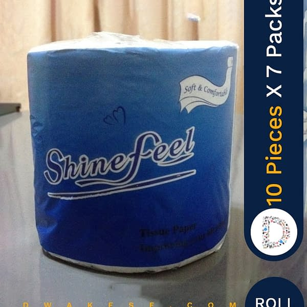 SHINEFEEL TOILET PAPER 10 X 7 PACKS