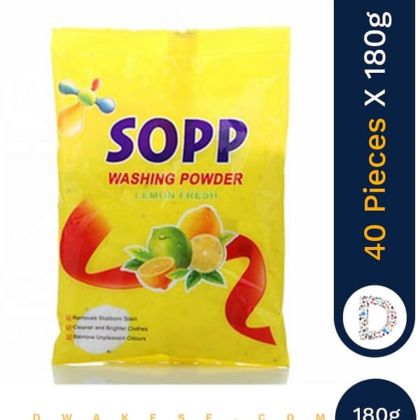 SOPP WASHING POWDER 40 X 180G