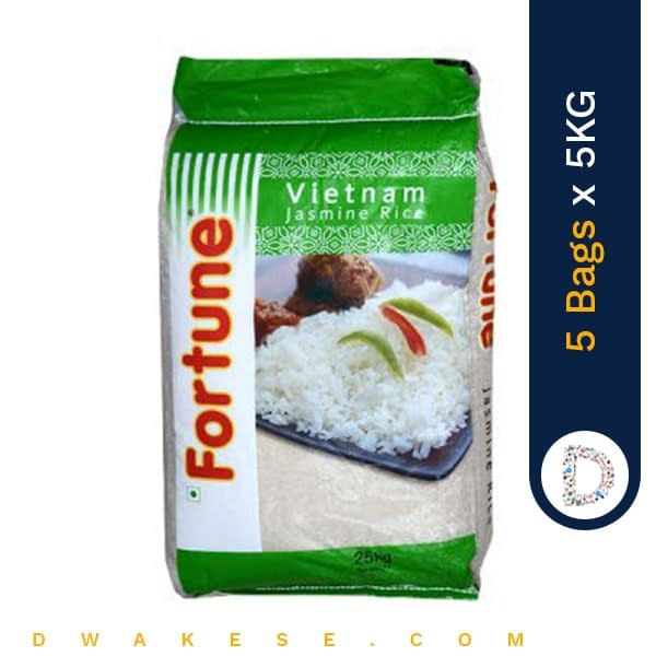 FORTUNE GREEN RICE 5KG X 5BAGS