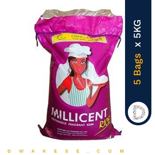 MILLICENT RICE 5KG X 5BAGS