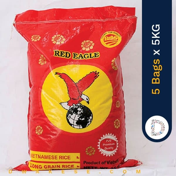 RED EAGLE RICE 5KG X 5BAGS