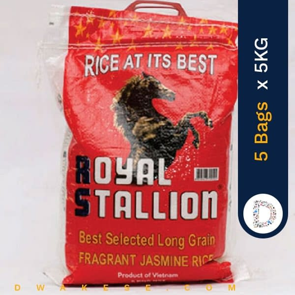 ROYAL STALLION RICE 5KG X 5BAGS
