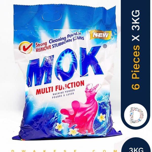 MOK WASHING POWDER 6 X 3 KG