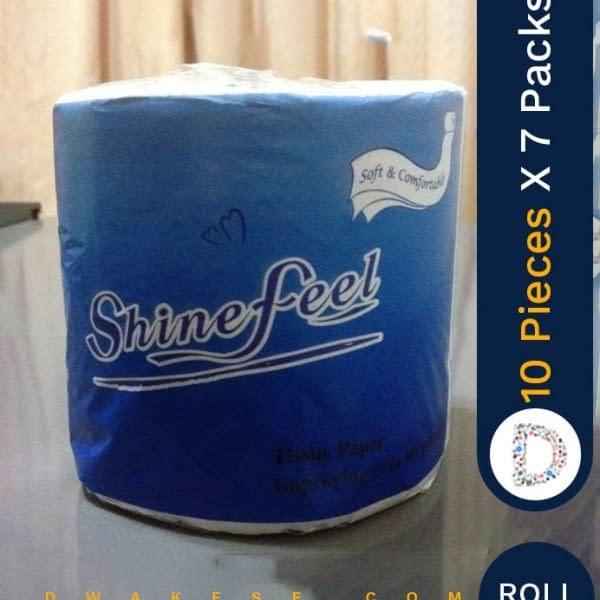 SHINEFEEL TOILET PAPER 10 X 7 PACKS